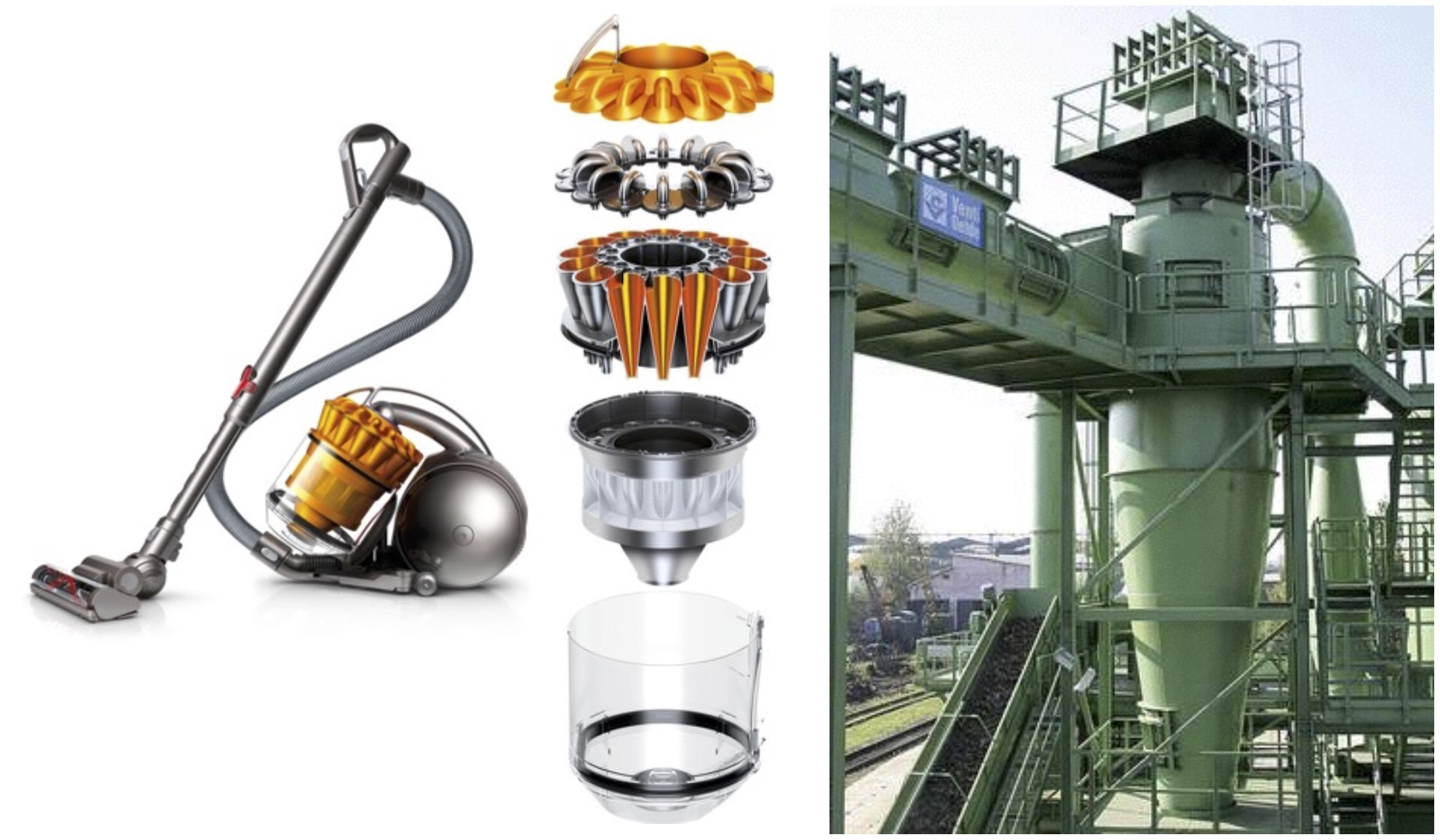 Domestic & Industrial cyclone separators